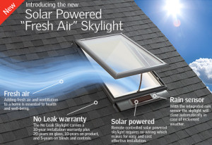 Fresh Air Skylight Velux